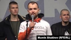 Алексей Миняйло на проспекте Сахарова