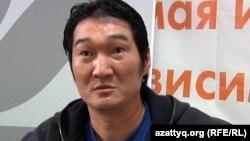 Kazakh rapper Takezhan Oteghaliev