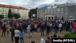 Митинг против главы Ишимбайского района