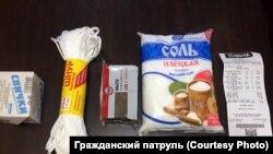 Подарочный набор пенсионерки из Новосибирска министру труда и социального развития региона