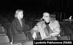 Галина Уланова и театральный художник Симон Вирсаладзе, 1986 год