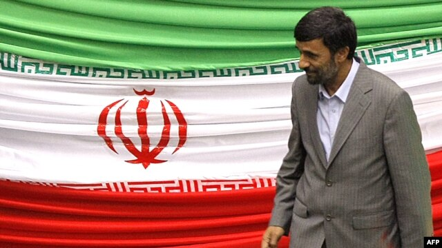 "Mahmud Ahmadinejad: ""A divine hand will come soon to root out the tyranny in the world."""