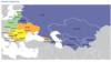 Карта из доклада международной правозащитной организации Freedom House «Страны переходного периода в 2018 году. Противостояние нелиберализму» (Nations in Transit 2018. Confronting illiberalism).
