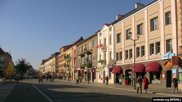 Центральна вулиця польського міста Білосток, що є центром Підляського воєводства