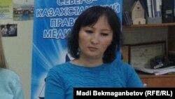 Астанадағы құқықтық медиа орталық заңгері Гүлмира Біржанова.