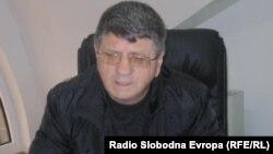"""Меџит Цапа, директор на """"Дебарски Бањи – Цапа""""."""