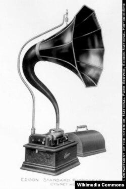 Стандартный фонограф Эдисона
