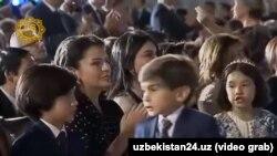 Дочери и внуки президента Шавката Мирзияева