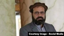 امین کریم رئیس هیئت مذاکره کنندۀ حزب اسلامی