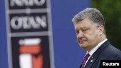 Президент України Петро Порошенко на Варшавському саміті НАТО, 9 липня 2016 року (ілюстраційне фото)