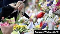 Cvijeće za ubijene na Novom Zelandu