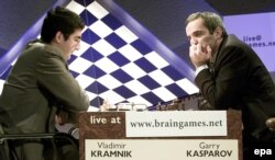 Гарри Каспаров против Владимира Крамника в 2000 году