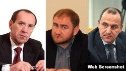 Мустафа Батдыев, Рауф Арашуков, Рашид Темрезов