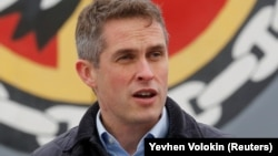 British Defense Secretary Gavin Williamson