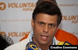 Леопольдо Лопес незадолго до ареста
