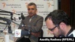 """Rasim Qaraca və Qan Turalı Azadlıq Radiosunun """"Pen klub"""" proqramında, 21 oktyabr, 2011"""