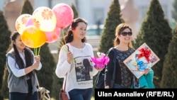 Бишкек. 8 марта 2016 года. Архивное фото.