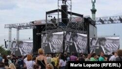 """Ungaria: """"Concertul libertății"""", dedicat căderii regimului comunist în 1989. Budapesta, 16 iunie 2014"""