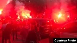 Футбольные беспорядки в Кутаиси