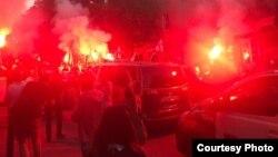 Футбольные беспорядки в Кутаиси.