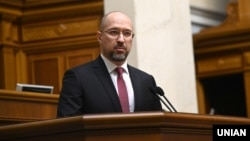 UKRAINE -- Newly appointed Minister of Community and Territorial Development of Ukraine Denys Shmygal during a sitting of the Verkhovna Rada of Ukraine in Kyiv, 4Feb2020