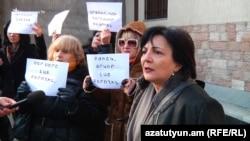 Ցուցարարները պահանջում են ազատ արձակել Արթուր Սարգսյանին: 20-ը փետրվարի, 2017 թ․