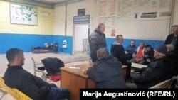 """Radnici """"Zenica transa"""" u Autobuskoj stanici"""