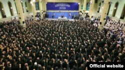IRGC leaders meeting with Ali Khamenei, the Islamic Republic Leader. File photo