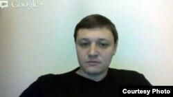 """Главный редактор газеты """"Взгляд"""" Игорь Винявский. 30 ноября 2012 года."""