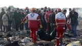 Авиакатастрофа Boeing'а: что говорят в Украине и Иране