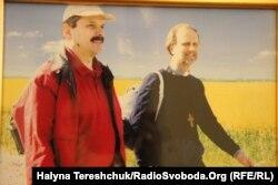 Мирослав Маринович (ліворуч) і владика Борис Гудзяк, фото з домашнього архіву