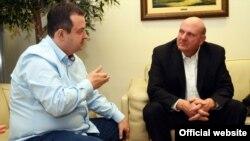 Premijer Ivica Dačić prilikom susreta sa Stivom Balmerom