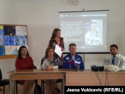 Ruski kosmonaut Aleksandar Mihailovič u budvanskoj školi