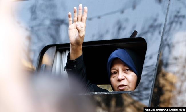 Fazeh Hašemi Rafsandžani je ćerka pokojnog iranskog predsednika Akbara Hašemija Rafsandžanija. (arhivska fotografija)