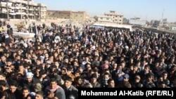 Протести во Мосул.