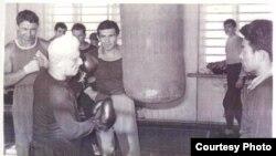 Сидней Жаксон - ўзбек бокси асосчиси