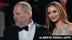 Harvey Weinstein və xanımı aktrisa Georgina Chapman