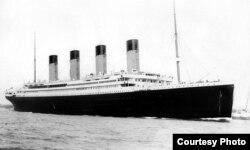 """""""Titanik"""" gəmisi, 1912"""