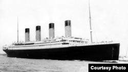"""Акси """"Titanic""""-е ки 100 сол пеш зери об рафт"""