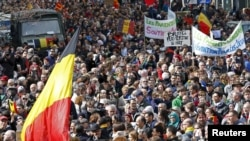 Брюссель, хода пам'яті загиблих у теракті - архівне фото