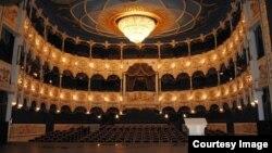 Dövlət Musiqili Teatrın zalı.
