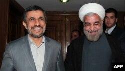 Махмуд Ахмадзінэжад і Хасан Рухані