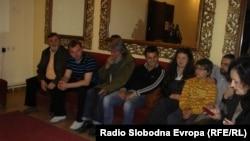 Актерите од кумановскиот театар