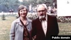 Генрих Алтунян с женой Риммой