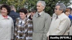 Уртада - Бөтендөнья Башкорт корылтае Башкарма комитеты рәисе Румил Азнабаев