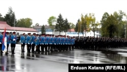 Postrojavanje žandarmerije u Banjaluci