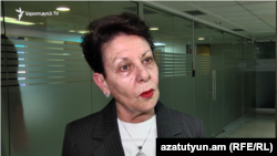 Правопреемница потерпевшего по делу «27 октярбя» Анаит Бахшян (архив)