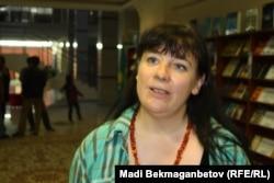 Режиссер фильма «Австрийская дорога» Руслана Берндл. Астана, 22 сентября 2016 года.