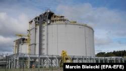 Термінал у Польщі для прийому скрапленого природного газу, в тому числі і зі США