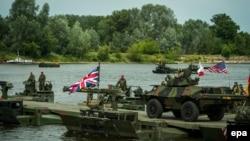 Военные учения НАТО «Анаконда-2016» в Польше. 13 июня 2016 года